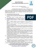 EDITAL Mestrado Em Estudos de Linguagens Faalc n 1 de 01-03-2018. 1