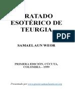 1959 Samael Aun Weor Tratado Esotérico de Teurgia