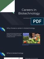 careers in biotech presentation