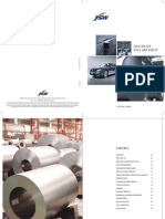 JSW Cold Rolled Brochure