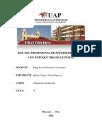 ROL DEL PROFESIONAL DE ENFERMERÍA EN MC CON ENFOQUE TRANSCULTURAL.docx