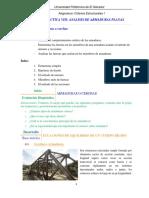 Secuencia Didáctica 8 ARMADURAS PLANAS