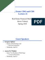 Lecture21 Cdo & Cds