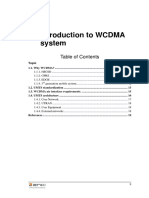 WCDMA RNP - 01 Introduction to WCDMA System
