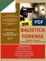 BALISTICA FORENSE - UJCM