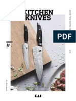 Kai Kitchen Knives Catalogue