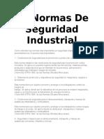 10 Normas de Seguridad Industrial