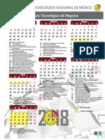 Calendario i 2018