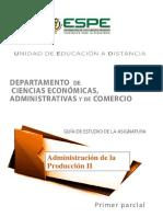 Actividad Entregable 1 Administración de La Producción