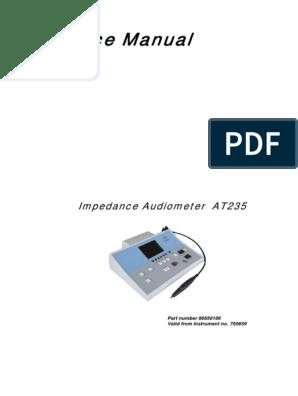 Audiometro Impedanciometro Interacoustics At235 - Ms