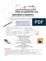 Caso Clinico Paciente Obesidad Diabetes
