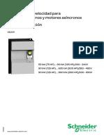 ATV61E Installation Manual ES 1760657 04
