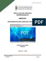 Dosier Tributacion en PDT 2017