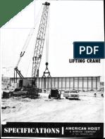 Qabwvgtplz9xxavwamerican 9270 Lifting Crawler Crane Network