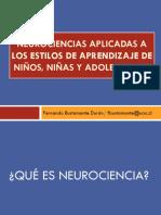 1 Aspectos Generales de Las Neurociencias