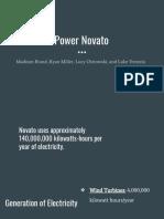 power novato