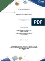 Unidad 1 Paso 2– Organización y Presentación Relacionar Nociones Básicas, Clasificar, Tabular y Presentar La Información