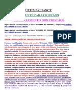 ÚLTIMA CHANCE ARREBATAMENTO.doc