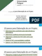 20 Passos Para Elaboração de Um Projeto Elétrico