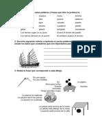 Evaluación de Lengua - Primaria