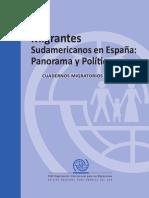 OIM Migrantes Sudamericanos en Espana No1 0