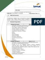 Recursos Avançados de Word e Excel