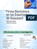 Investigacion Firma Electronica
