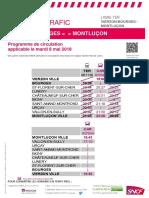 Bourges - Montluçon Du 08-05-2018