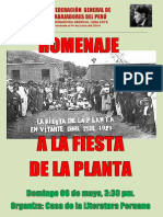 AFICHE Fiesta Planta