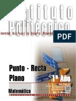 1102-17 Matematica Punto Recta Plano