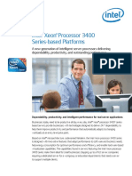 Xeon 3400 Series Based Platforms Product Brief