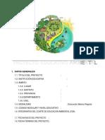 297614890 Proyecto Educativo Ambiental 2016 Modelo
