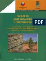 CHILE Manejo Del Riego Localizado y Fertirrigación