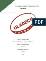 LA AUDIENCIA, DESARROLLO DEL JUICIO Y LA CONCLUSIÓN ANTICIPADA.docx