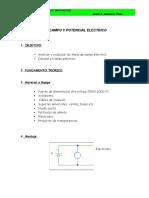 Campo y Ptencial Electrico LAB 2