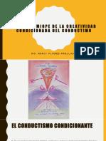 3.Conductismo. Visión Miope de La Creatividad
