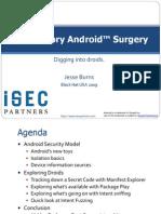 iSEC Android Exploratory Blackhat 2009