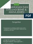Pengawasan Dan Eveluasi Bisnis & Manajemen