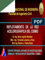 Reflotamiento de Red Acelorografica SISMID