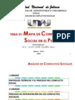 Mapa de Conflictos Sociales en el Perú