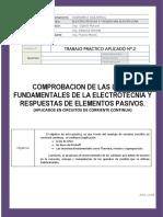Tpa Nº2 - Leyes y Teoremas Fundamentales de La Electrotecnia (1)