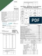 Formulario de Tablas de Diseño bocatoma