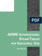 ASME International Steam Tables for Industrial Use
