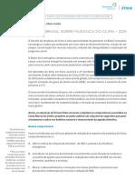 Fórum Clima Carta Aberta Ao Brasil Sobre Mudança Do Clima – 2015 A