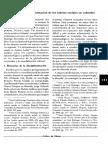 Notas Sobre La Transformación de Los Saberes Sociales en Colombia