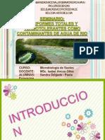Coliformes totales y termotolerantes como contaminantes de aguadero
