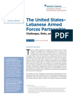 The United States-Lebanese Armed Forces Partnership