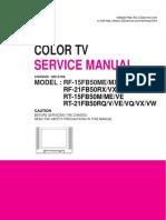 LG COLOR TV SERVICE MANUAL