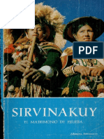 Sirvinakuy - El Matrimonio de Prueba - Alfonsina Barrionuevo