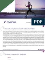Revance 2018 Investor Day Full Deck MASTER III